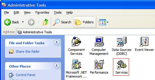 caepipe troubleshoot spn service restart instructions admin tools with services selected image