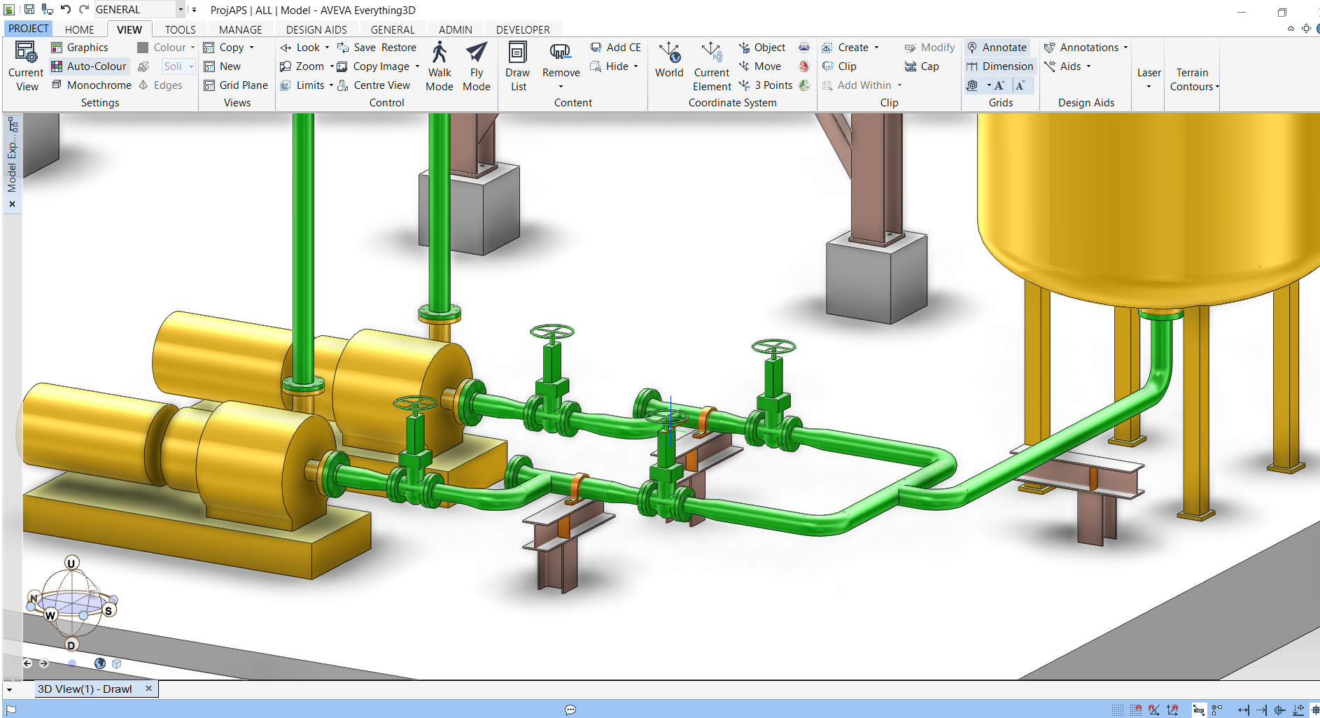[DIAGRAM_09CH]  CAEPIPE 3D+ | 3d Piping Diagram |  | SST Systems, Inc.