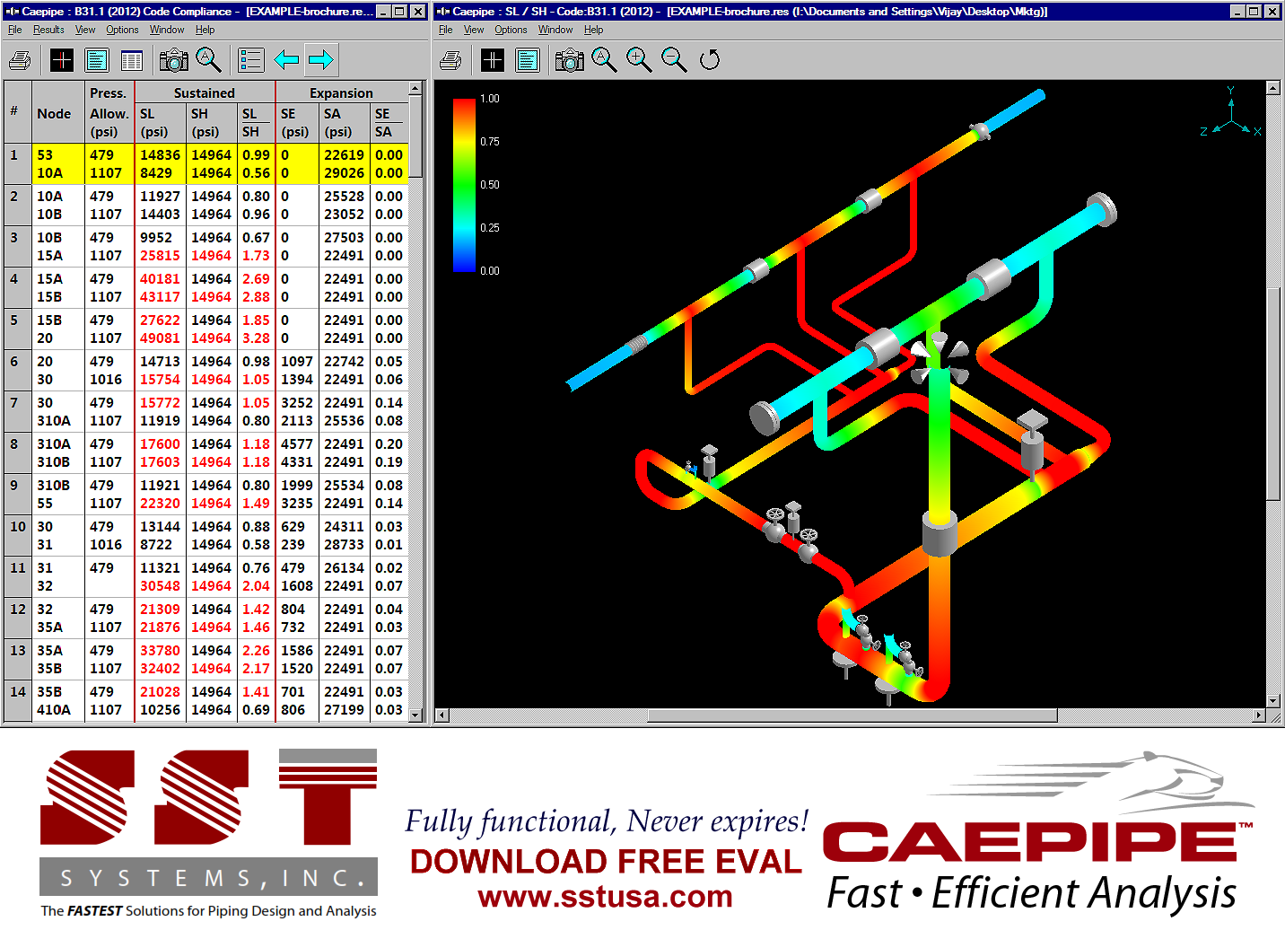caepipe 7 press release screen shot 1 - Piping Design Software Free