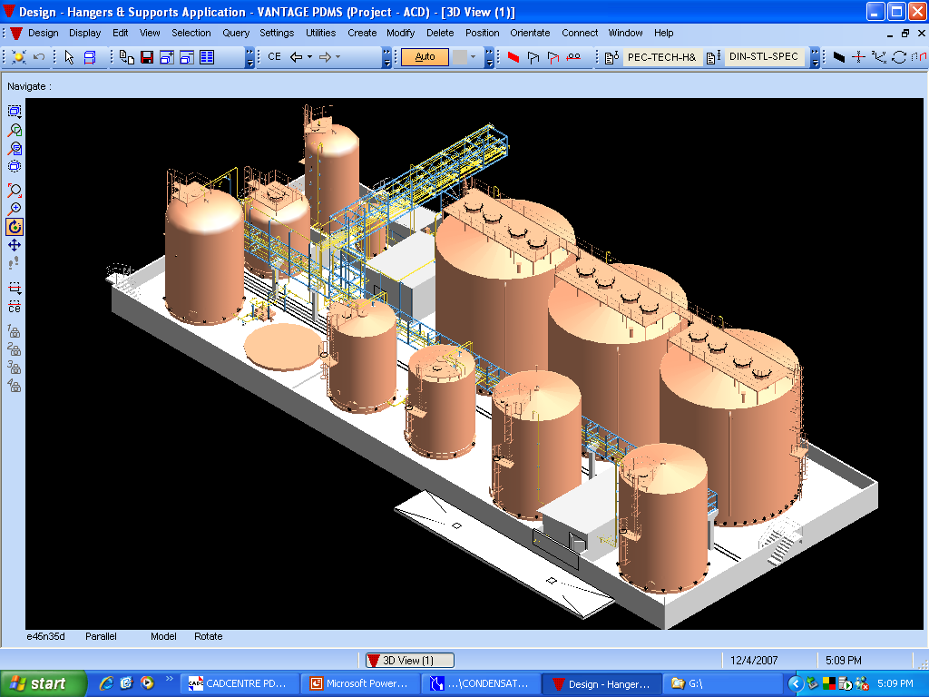 thermal power plant layout and working pictures piping layout and design pictures