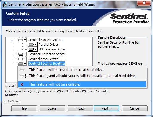 7.6.1 INSTALLER TÉLÉCHARGER PROTECTION GRATUIT SENTINEL